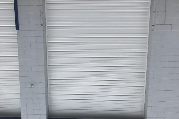 Commercial Door installation Hatboro PA (6) 12' x 16' 2411S, white