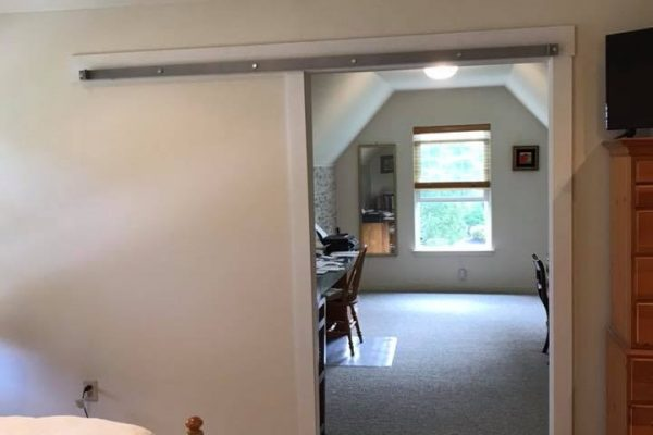 Interior barn doors installation Chalfont PA 2