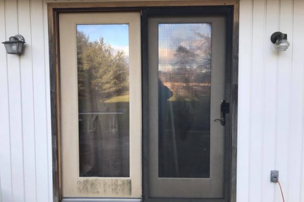 Therma-Tru Sliding door installation in Woxall PA 2