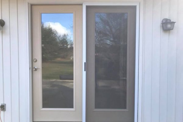 Therma-Tru Sliding door installation in Woxall PA 3