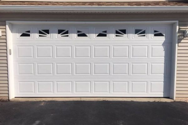 Installation of Wayne Dalton 8300 Garage Doors Gilbertsville PA 3