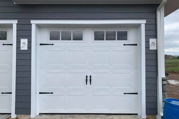 Carriage House Style Garage Door Installation in Perkasie PA  2