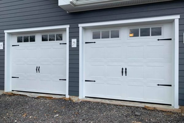 Carriage House Style Garage Door Installation in Perkasie PA  4